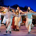 A scene from Oileán - Celebrating the Blasket Islands by the National Folk Theatre of Ireland