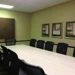 The Executive Boardroom comfortably seats up to 12.