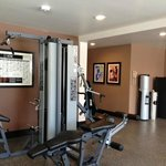 Our new fitness center includes Precore fitness equipment