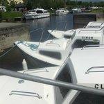Leitrim Quay in sun!