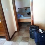 Inside oceanview suite
