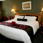 King Bedded Rooms - decorated for one of our many brides