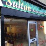 Outside the Sultan Restaurant on Manningham Lane