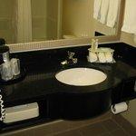 Clean bright bathroom