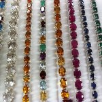 Consolidated offer full service gemstone cutting.  All jewelry made in our store!