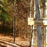 hiking trail entrance