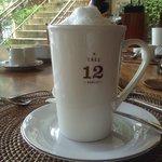 morning latte! :)