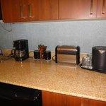 Kitchenette amenities