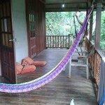 Balcony in Khao sok bungalow