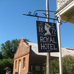the royal hotel historic building