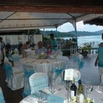 The wedding reception