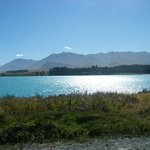 View of Lake Tekapo from Cottage