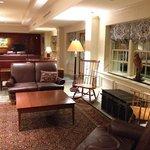 hotel lobby/lounge area