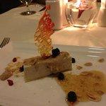 yummy desert with excellent presentation