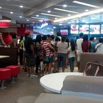 KFC's interior