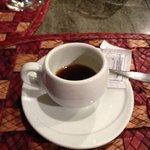 un delicioso café para finalizar la cena