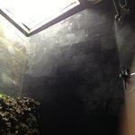 de douche met sky view