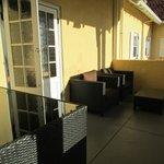 Cosy corner at the Balcony