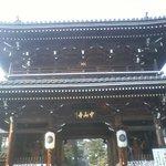お寺の大門