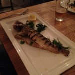 plain grilled fresh fish, delicious