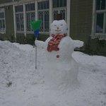 Snowman in Snowman city