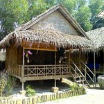 Our bamboo hut