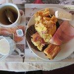 Het geroemde ontbijt