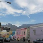View of the hotel from Bo-Kaap