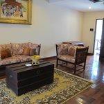 Living room in room 407