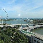 Marina Bay, from the Mandarin Singapore