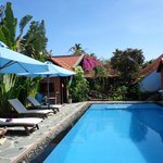 pool at betel garden homestay