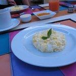 Breakfast at Casalegre (note the fresh mango jam!)