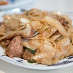 Rice noodle with beef