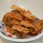 Fried wonton skin for Lunch Special
