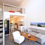 voll ausgestattetes Loft-Apartment