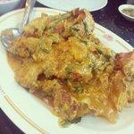 Crab in Thai curry sauce