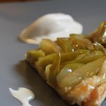 unforgetable desert, Home made apple tartre tatin
