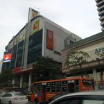 Big C supermarket next to the hotel