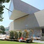 Das architektonisch sehr interessante Museum für moderne Kunst in Rom