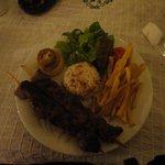 Best Lamb kebab ever.