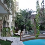 terrace view of pool
