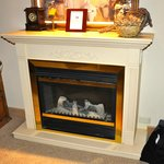 Electric Fire - for decoration purposes on
