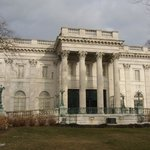 Front view of The Marble House