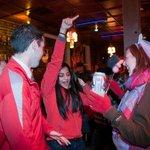 partying at hangfire pub