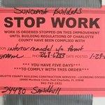 STOP  WORK NOTICE