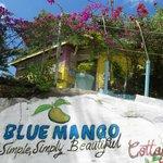 Entrance to Blue Mango