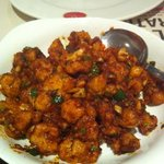 Gobi manchurian also available at Calicut paragon
