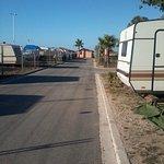 straatjes op de kamping