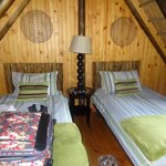 Slaapkamer op vide