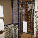 Amber - Bathroom mosaic